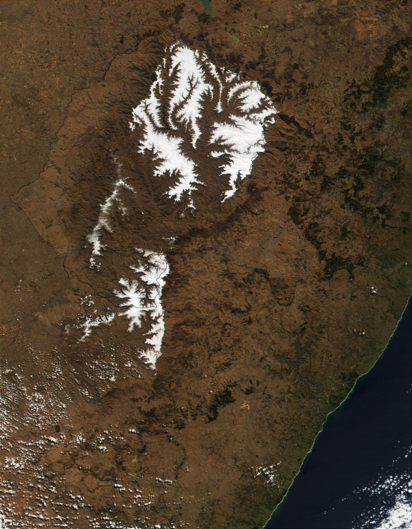 Snow in Lesotho - related image preview