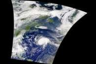 SeaWiFS: Hurricane Erin
