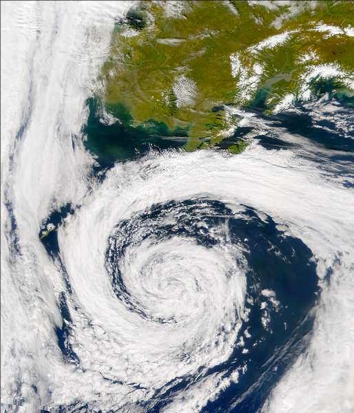 SeaWiFS: North Pacific Storm - related image preview