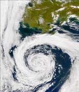 SeaWiFS: North Pacific Storm - selected image