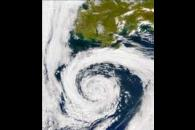 SeaWiFS: North Pacific Storm