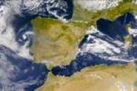 SeaWiFS: Smoke from Southwestern Europe