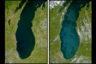 SeaWiFS: Lake Michigan Brightens Again