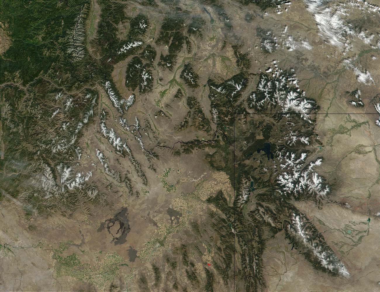 First snow in Wyoming, Idaho, and Montana - related image preview