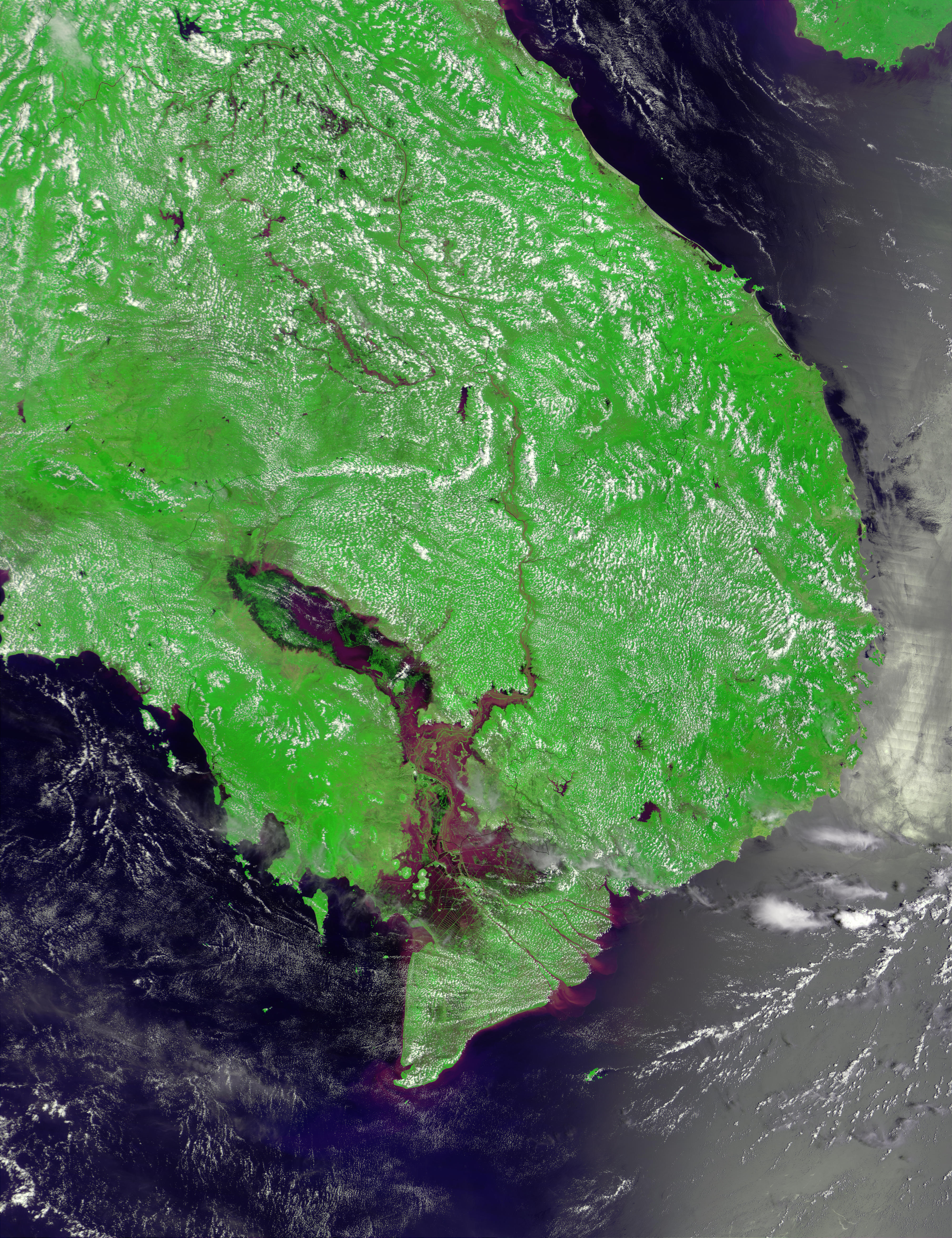 Flooding of the Mekong in Vietnam and Cambodia - related image preview