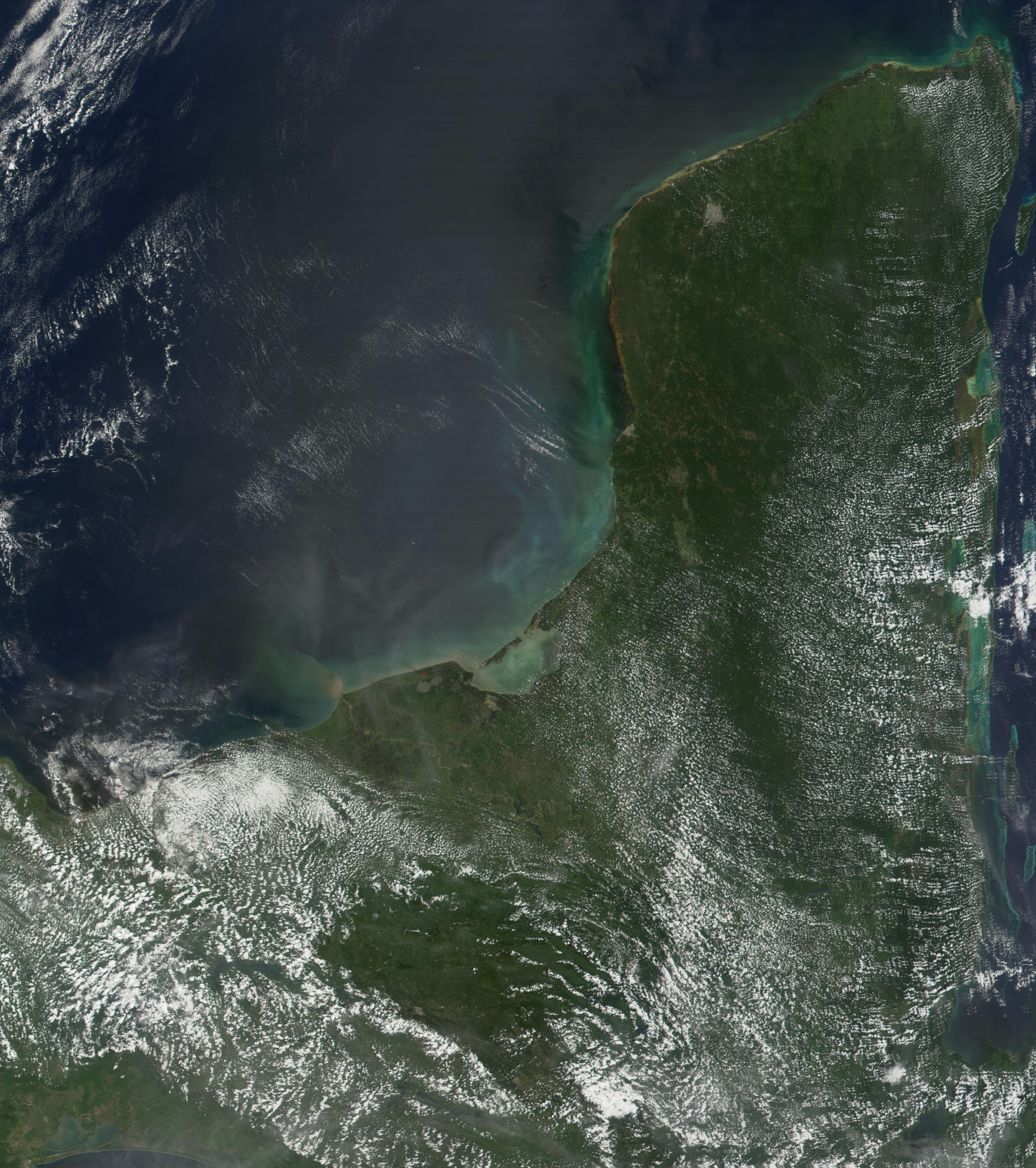 The Yucatan Peninsula - related image preview