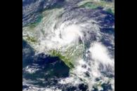 SeaWiFS: Hurricane Iris