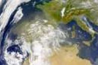 SeaWiFS: African Dust over Iberia