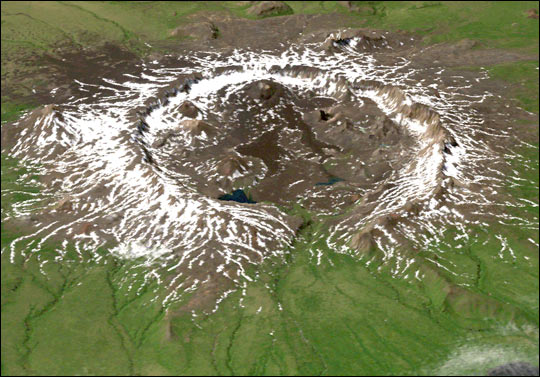 NASA Radar Gives Fresh Look at Alaska's Unique Terrain - related image preview