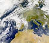 SeaWiFS: Dust over Europe - selected image