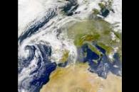 SeaWiFS: Dust over Europe