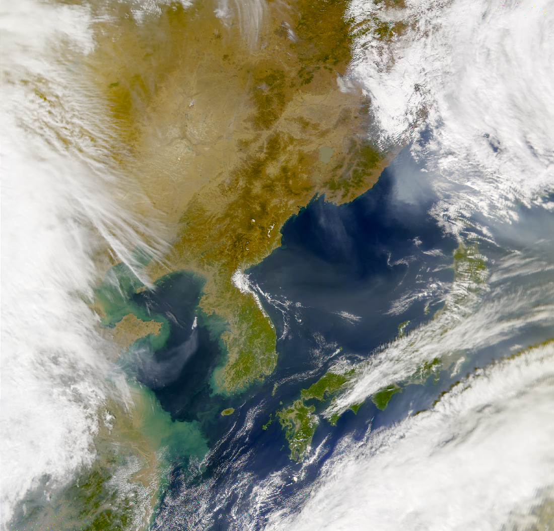 SeaWiFS: Aerosols over eastern Asia - related image preview