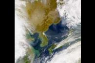 SeaWiFS: Aerosols over eastern Asia
