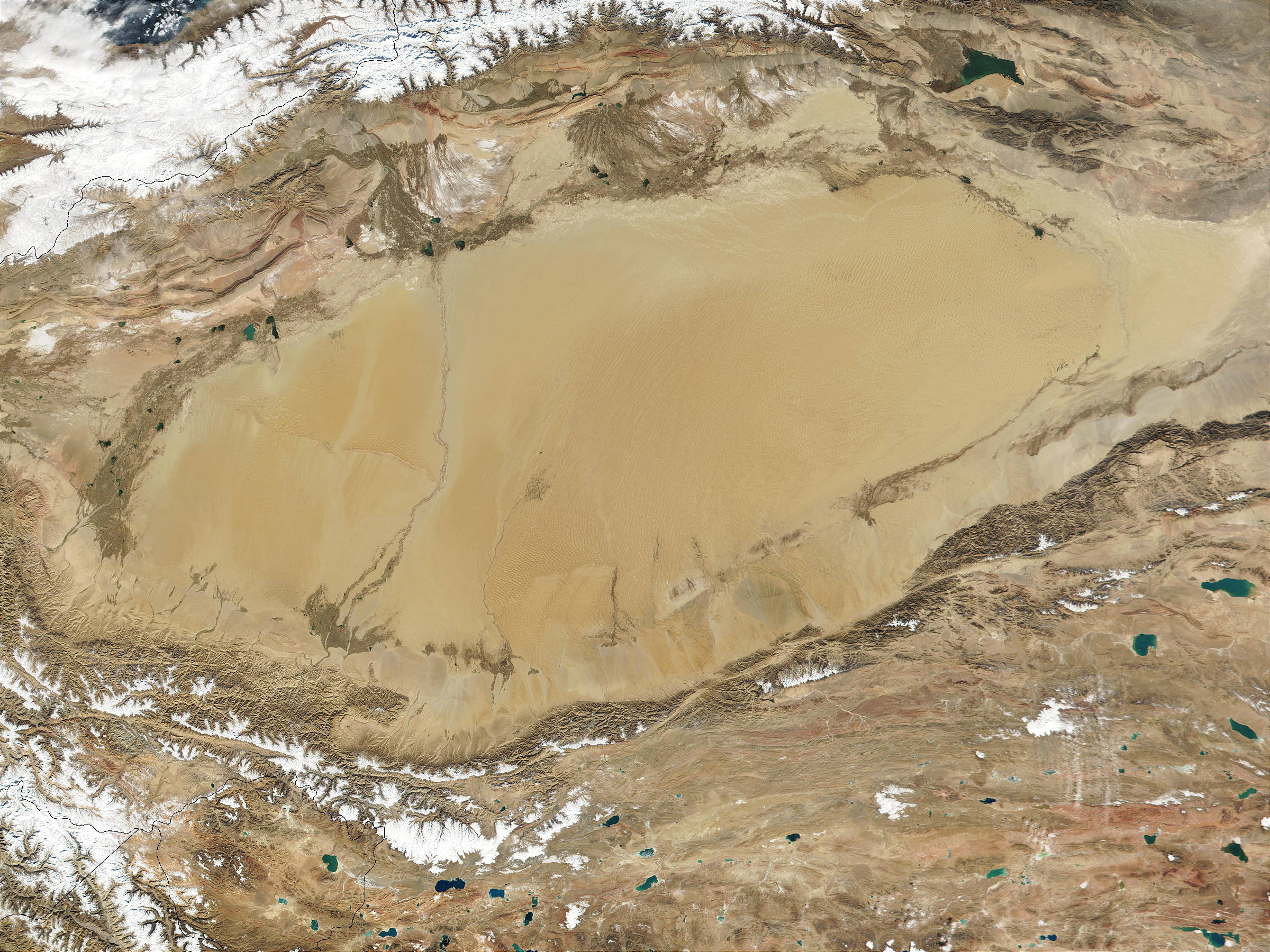 Taklimakan desert, western China - related image preview