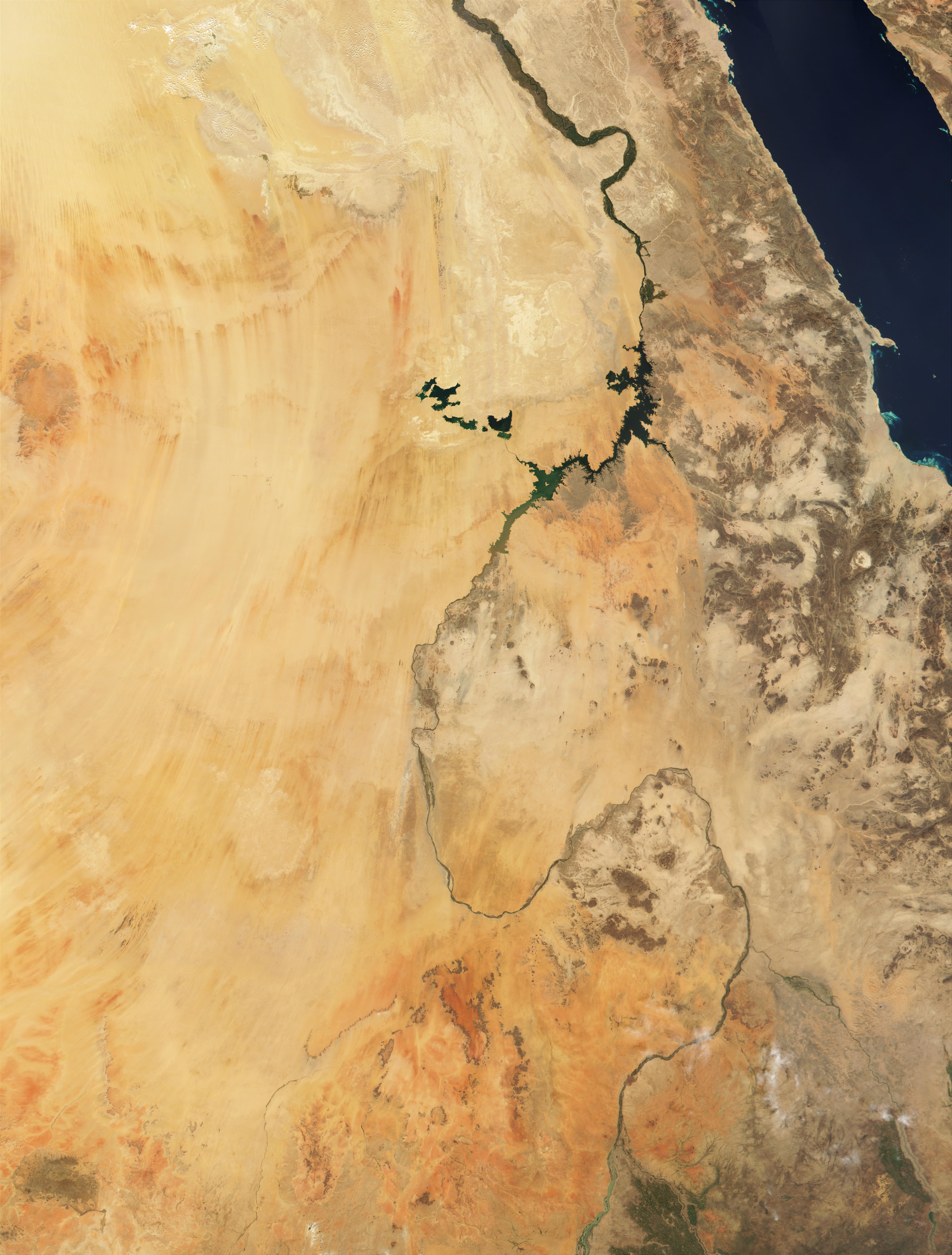 The Nile in Egypt and Sudan - related image preview