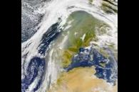 SeaWiFS: African Dust over Europe