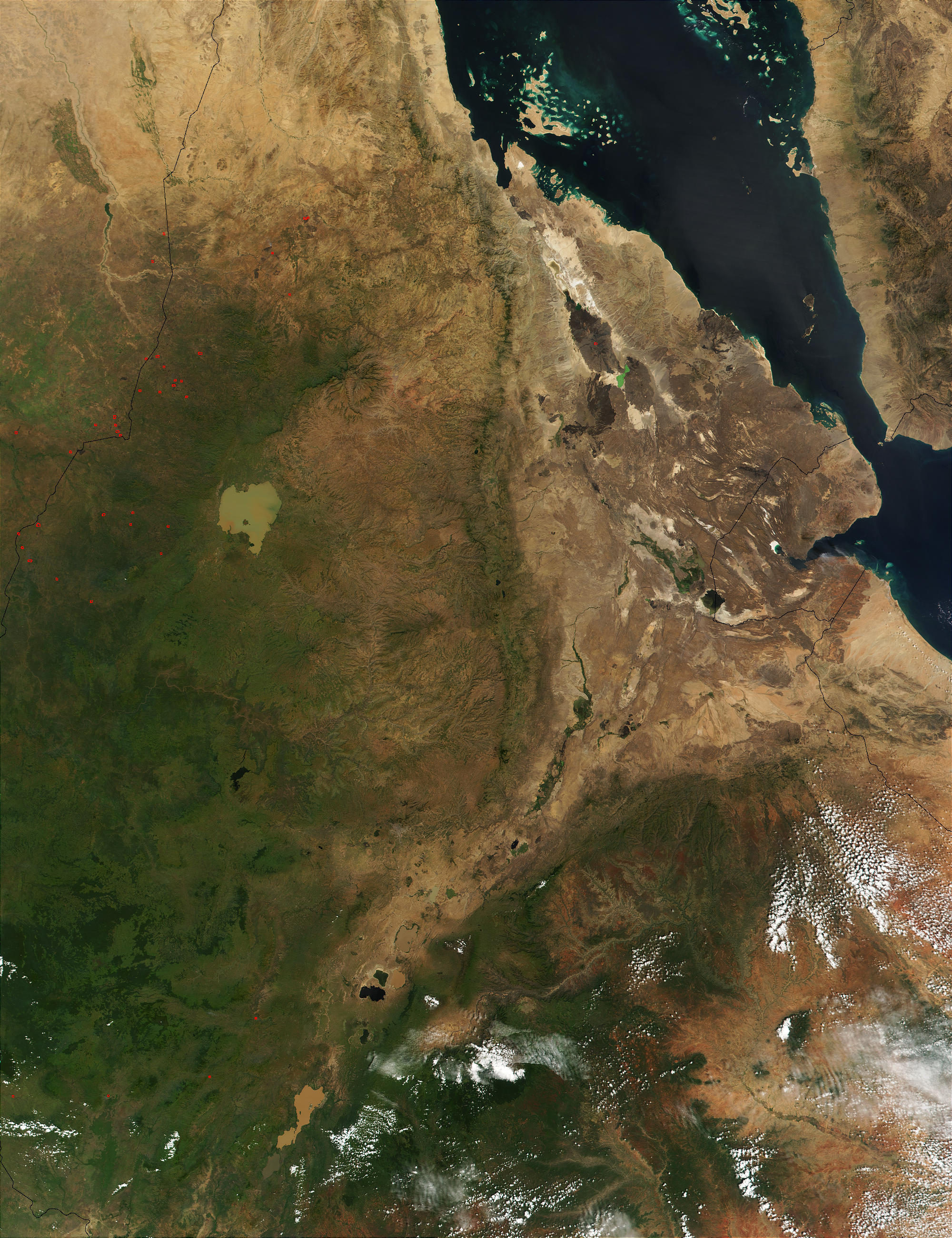 Fires in Ethiopia and Sudan - related image preview