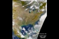 SeaWiFS: Cloud Free Eastern United States