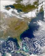 SeaWiFS: Eastern United States - selected image