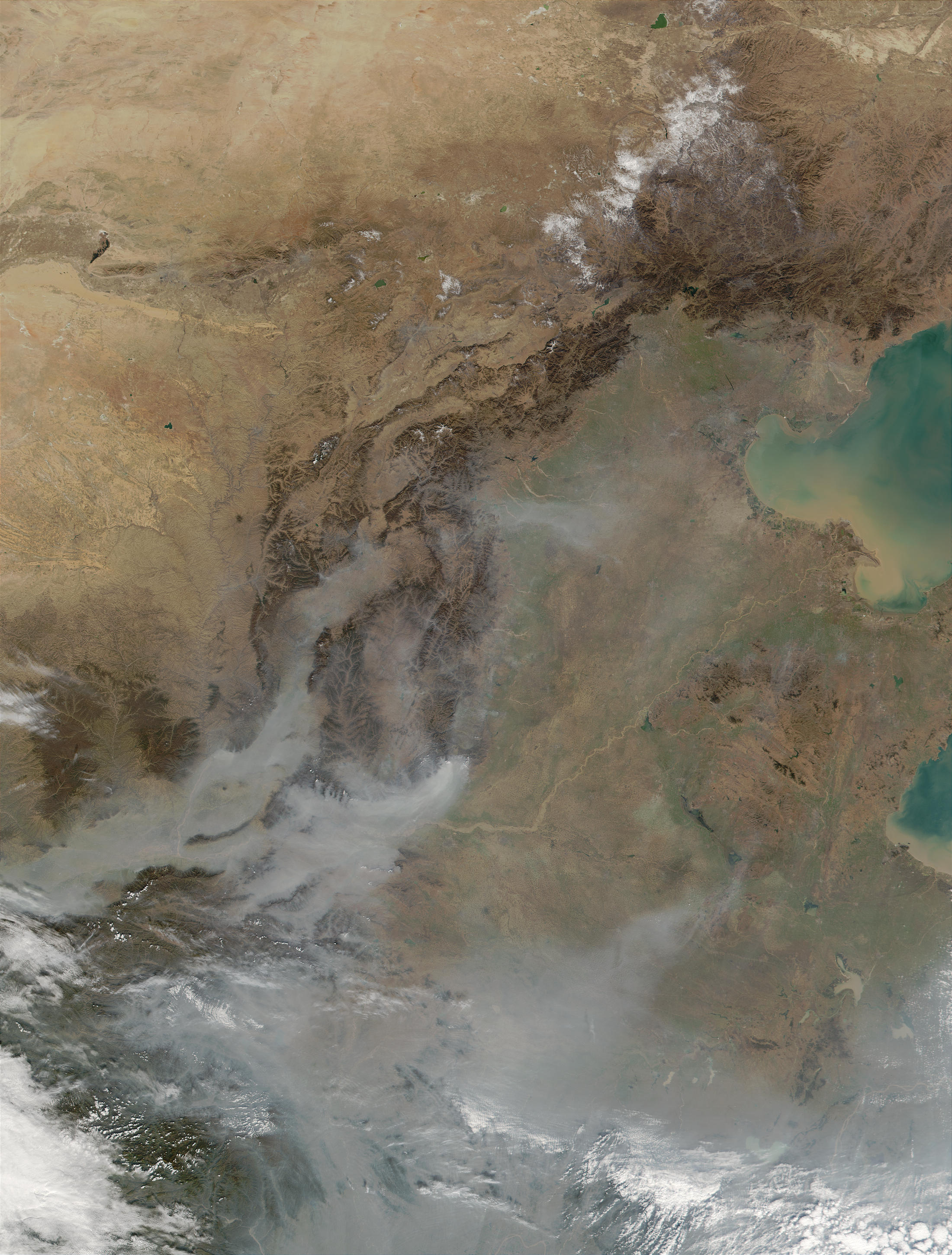 Thick aerosols in China - related image preview
