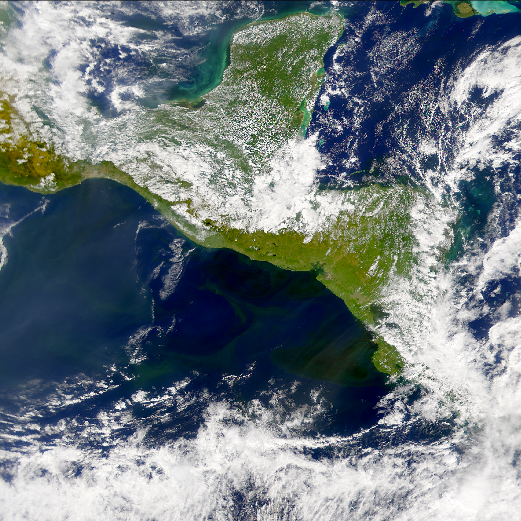 SeaWiFS: Productive Pacific off Central America - related image preview