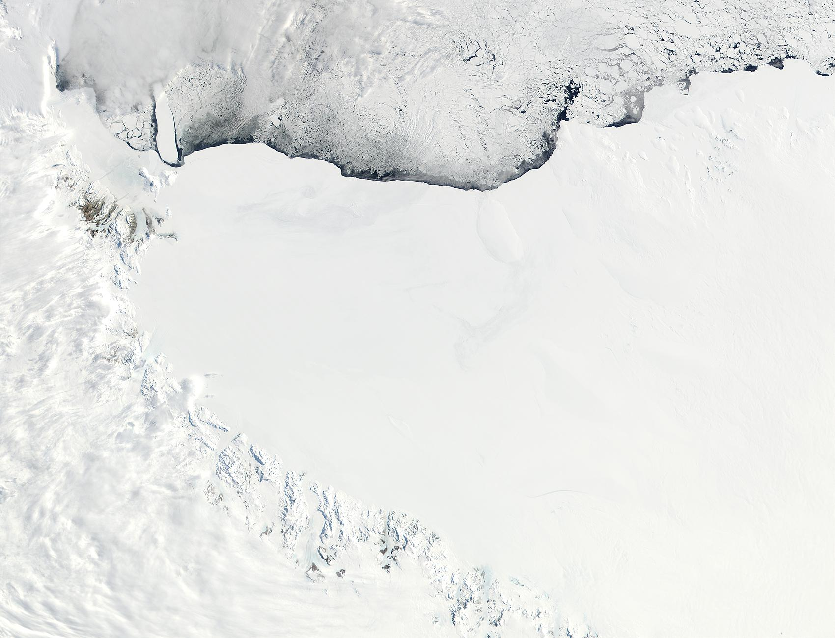 Ross Ice Shelf and Saunders Coast, Antarctica - related image preview