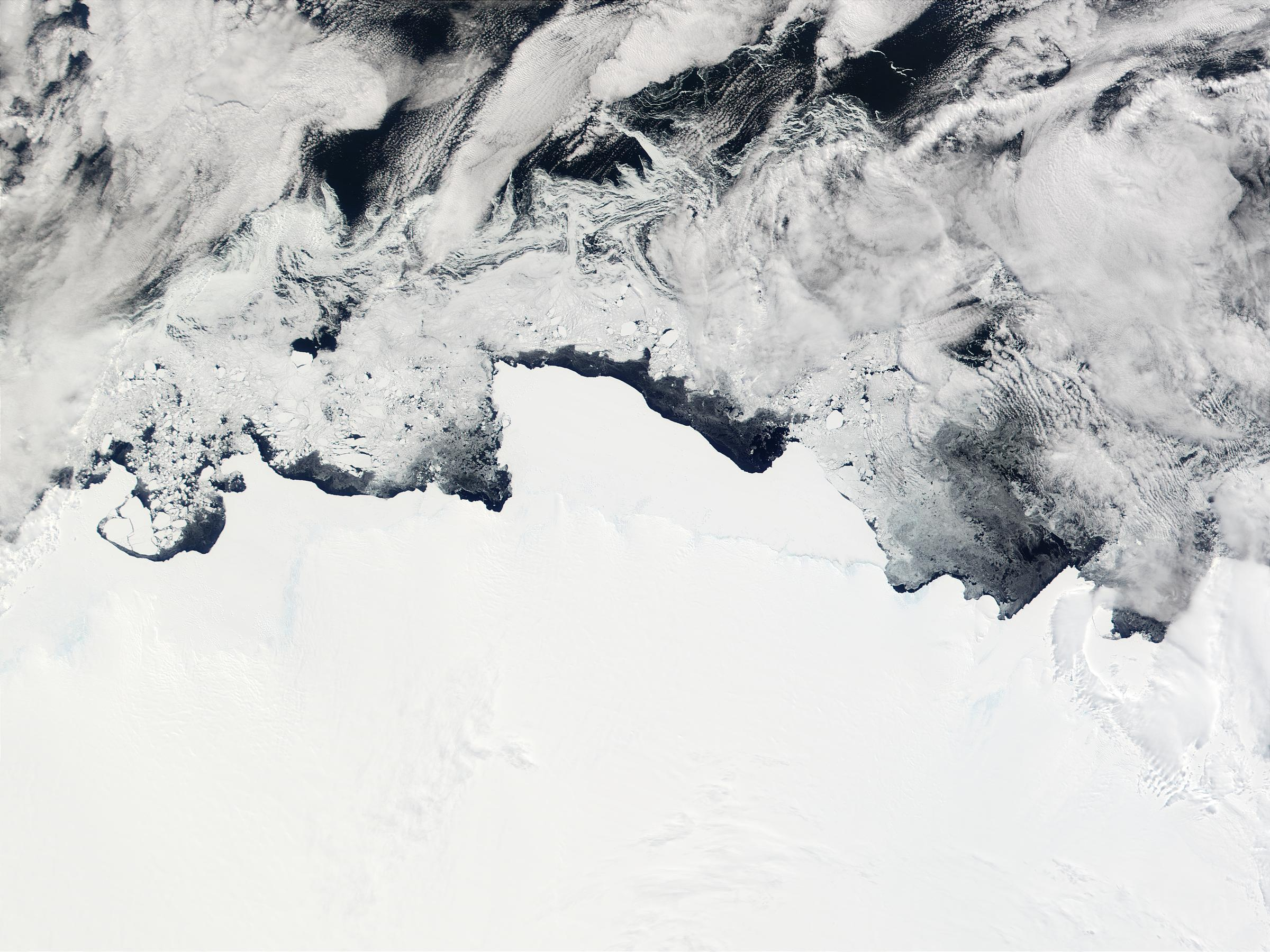 Banzare Coast, Clarie Coast, Adelie Coast, and George V Coast, Antarctica - related image preview