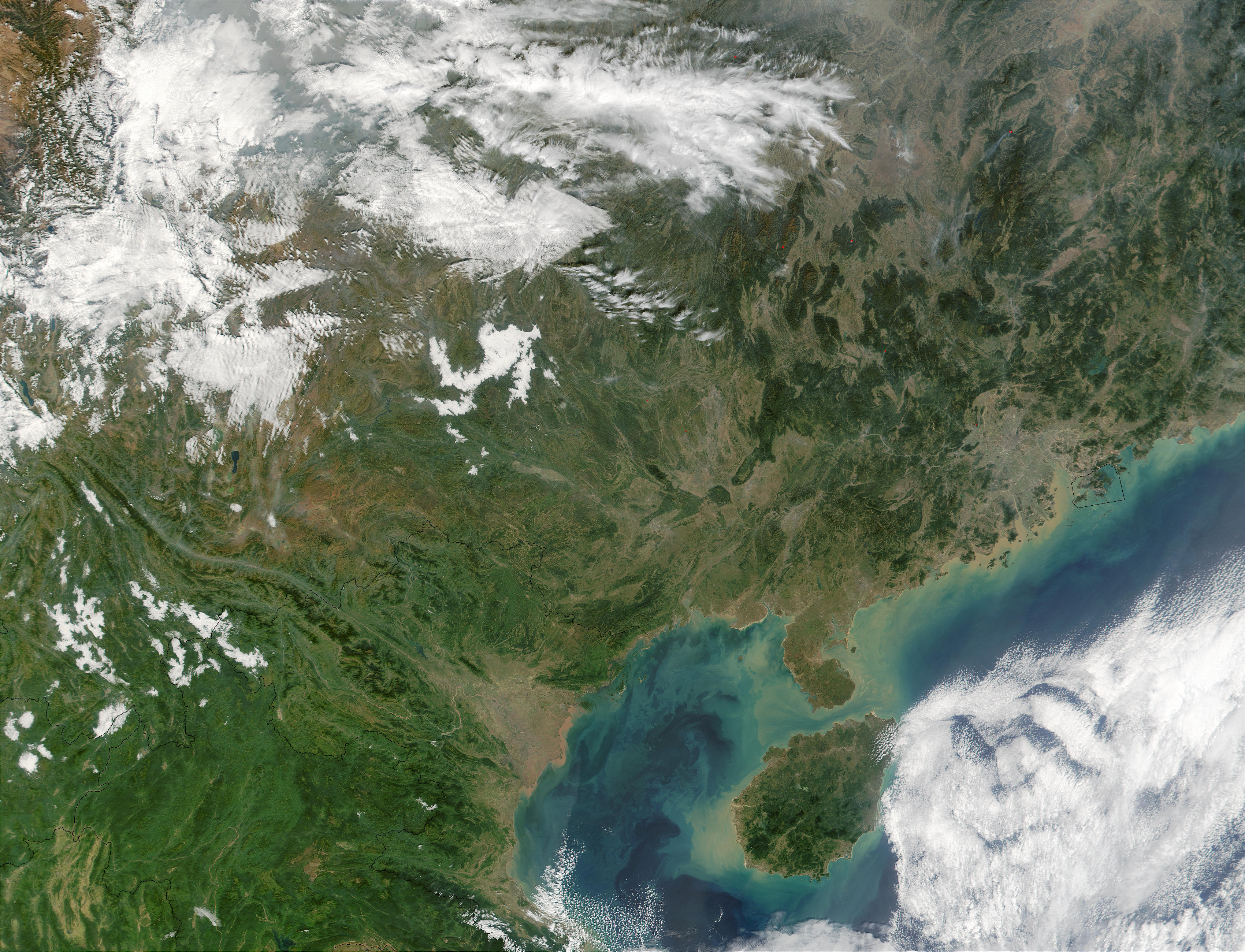 Gulf of Tonkin, Vietnam and Southern China - related image preview