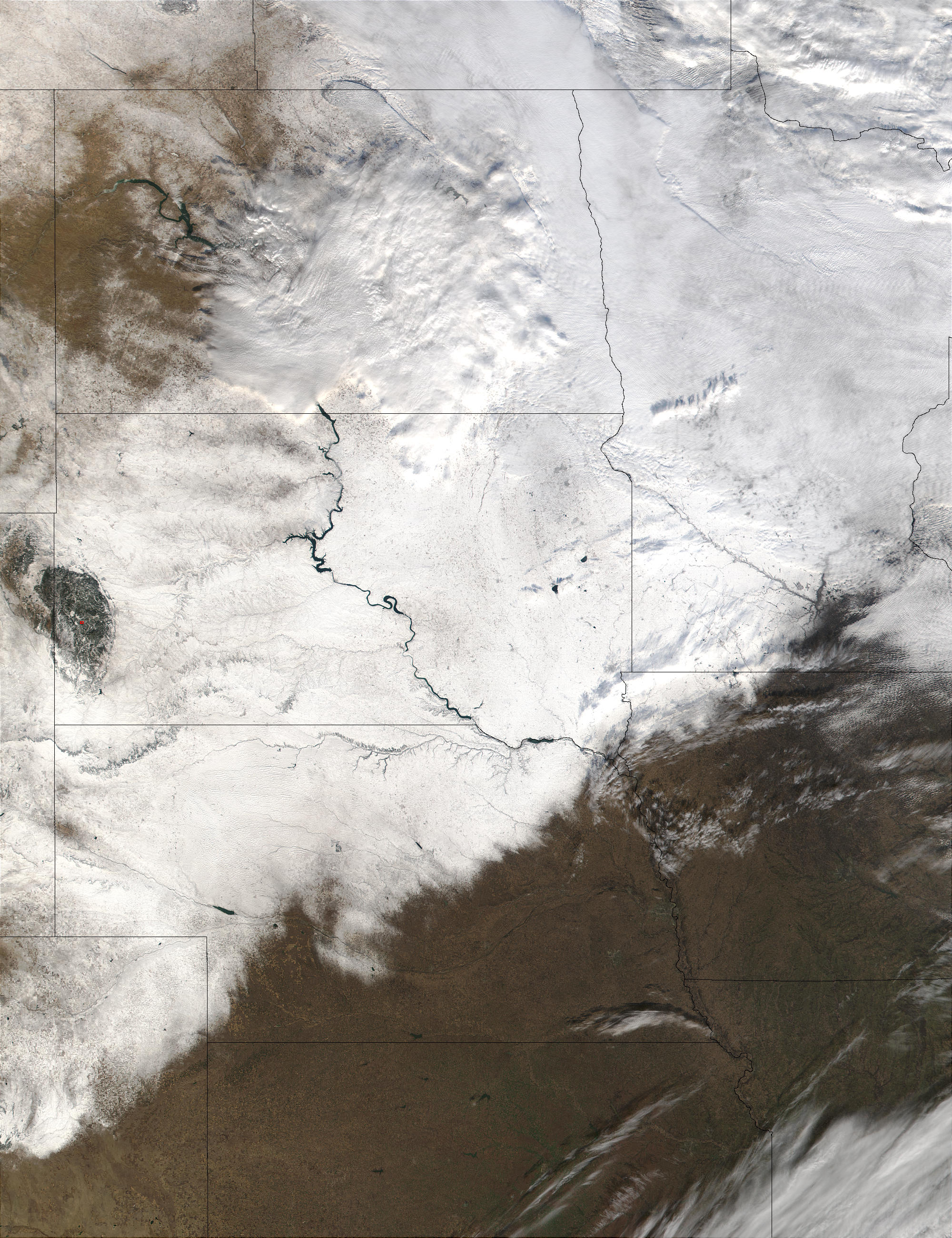 Snow in the Northern Great Plains - related image preview