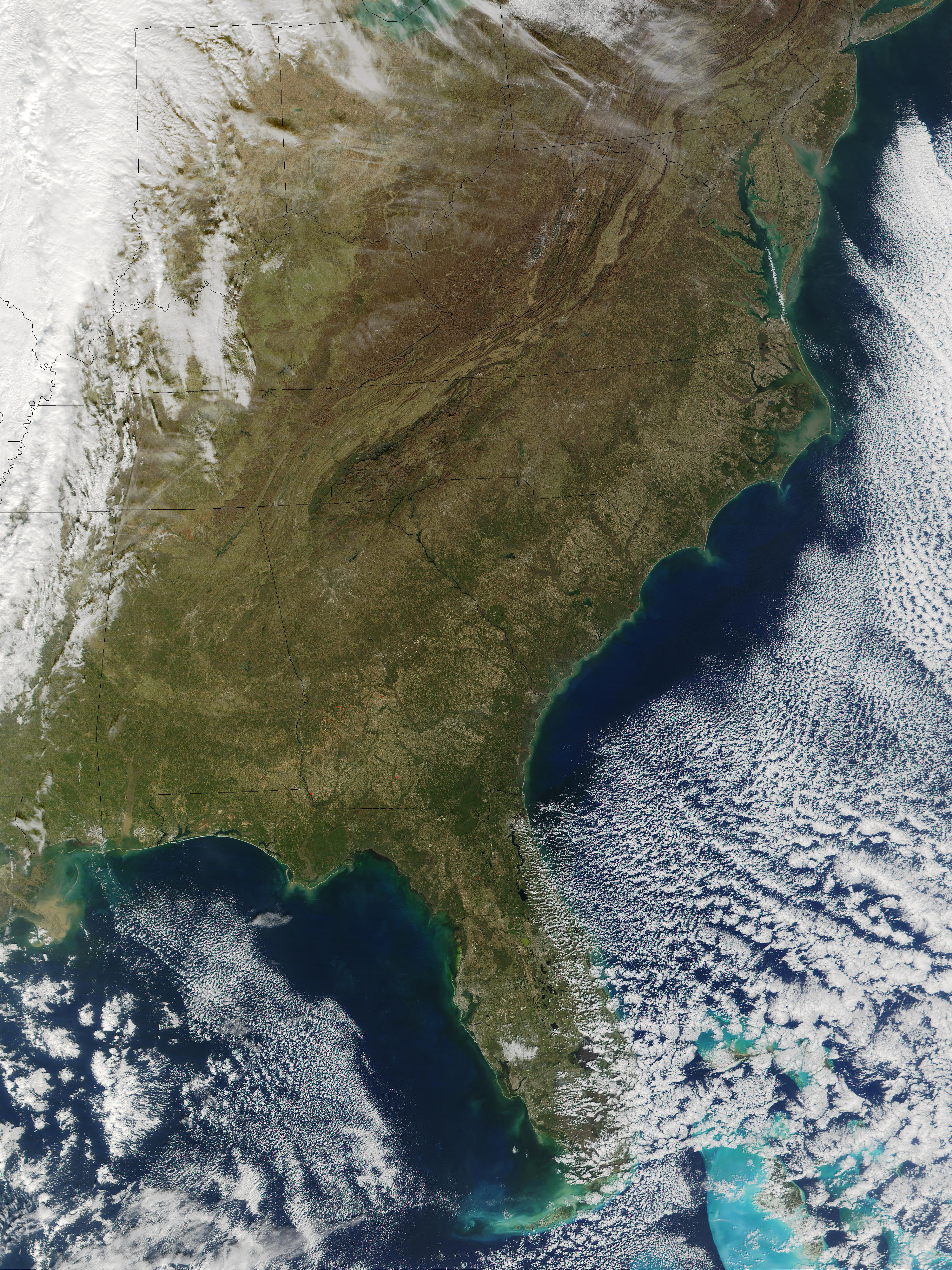 NASA Visible Earth: United States East Coast