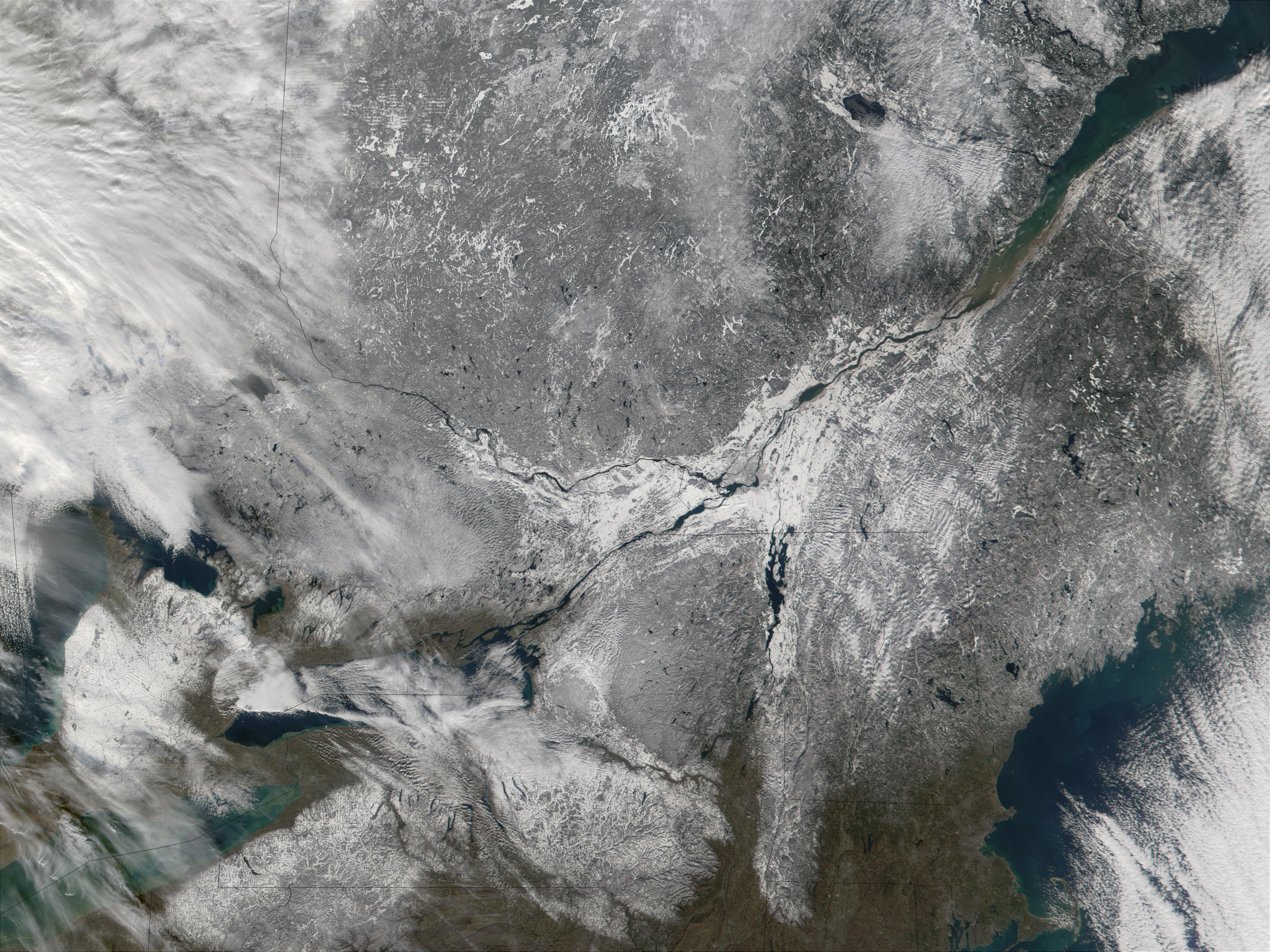 Southern Quebec and Northeast United States - related image preview