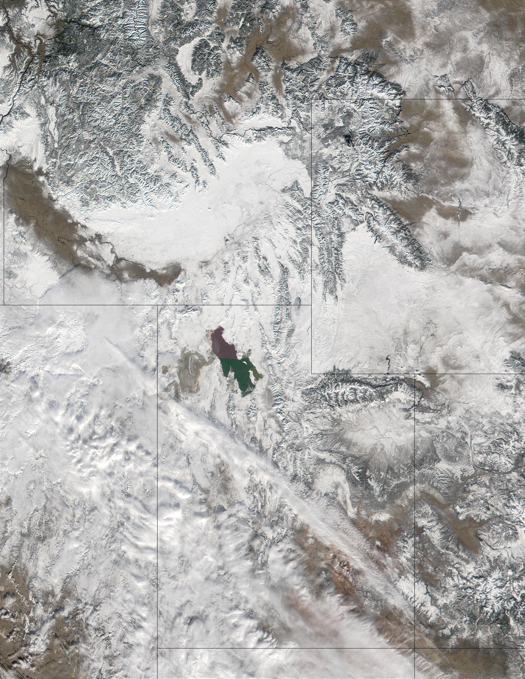 Snow in Utah and Western United States - related image preview