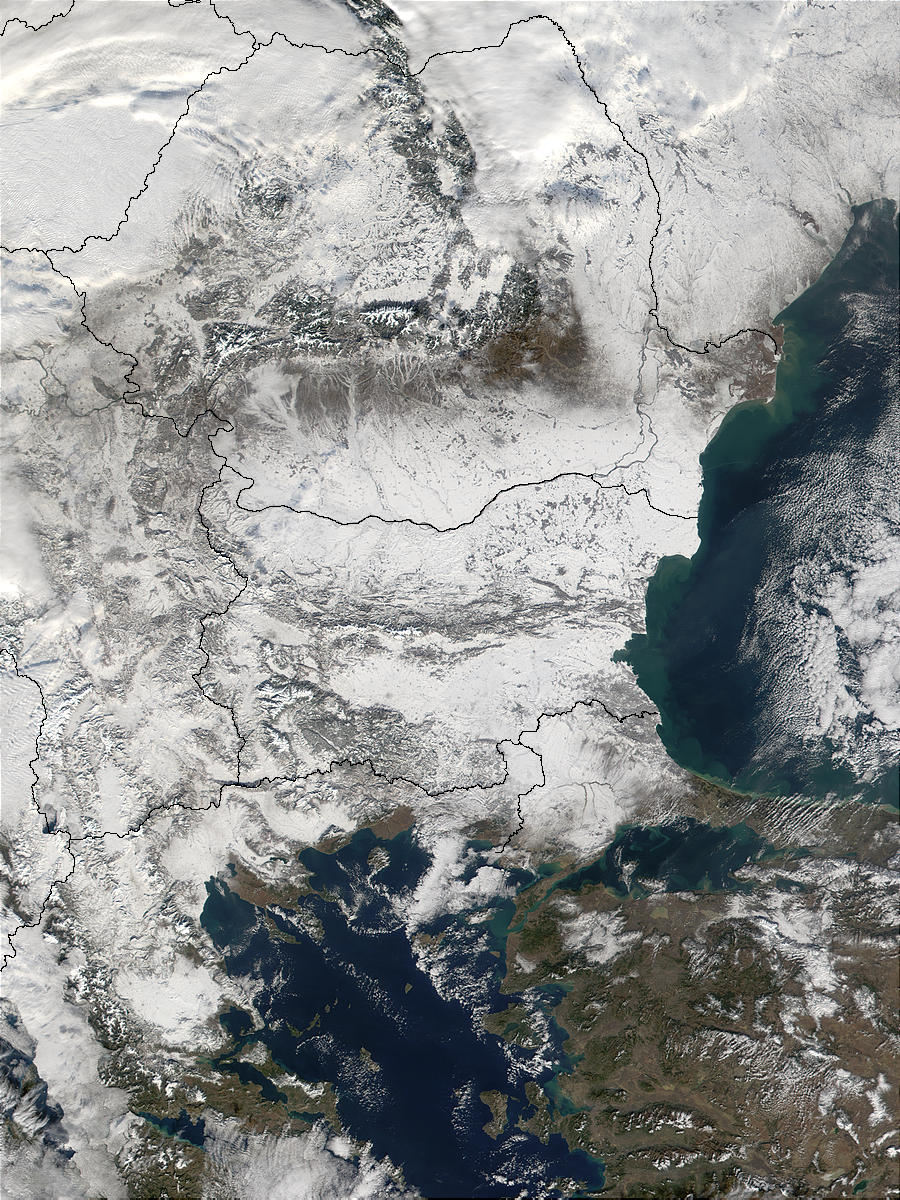 Snow in the Balkans - related image preview