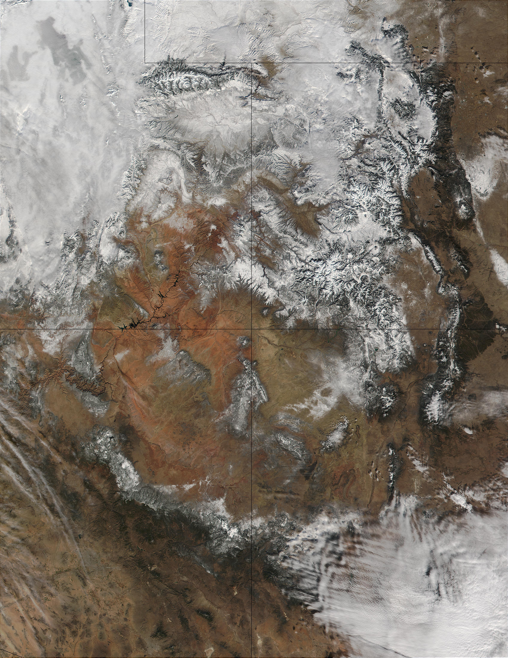 Snow in Southwest United States - related image preview