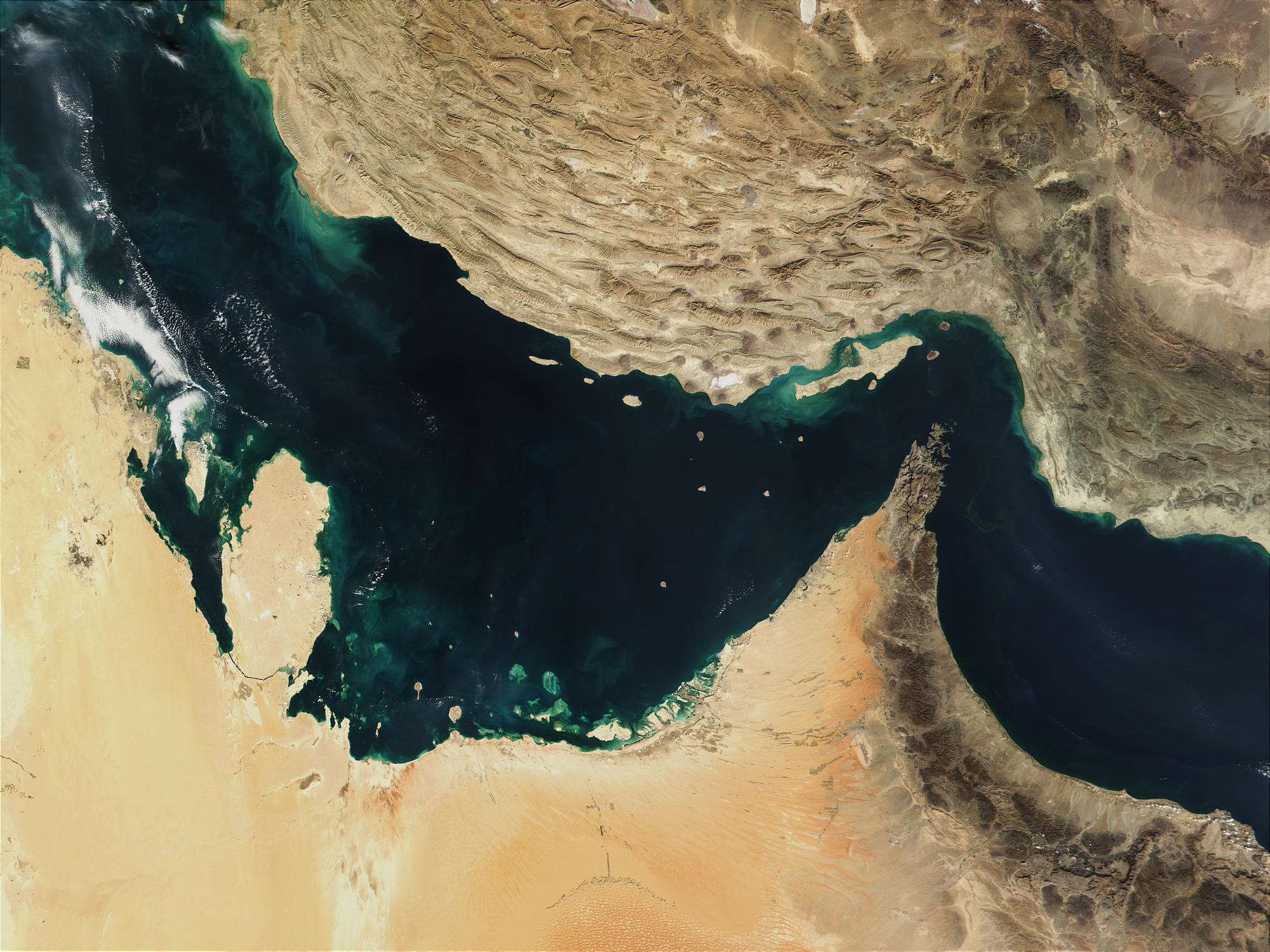 Persian Gulf and Gulf of Oman - related image preview