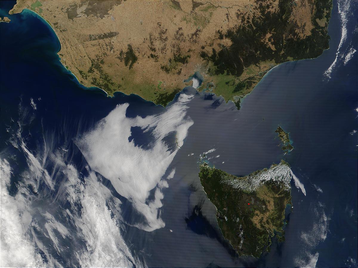 Tasmania and southeast coast of Australia - related image preview