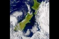 SeaWiFS: Runoff from Flooding in New Zealand
