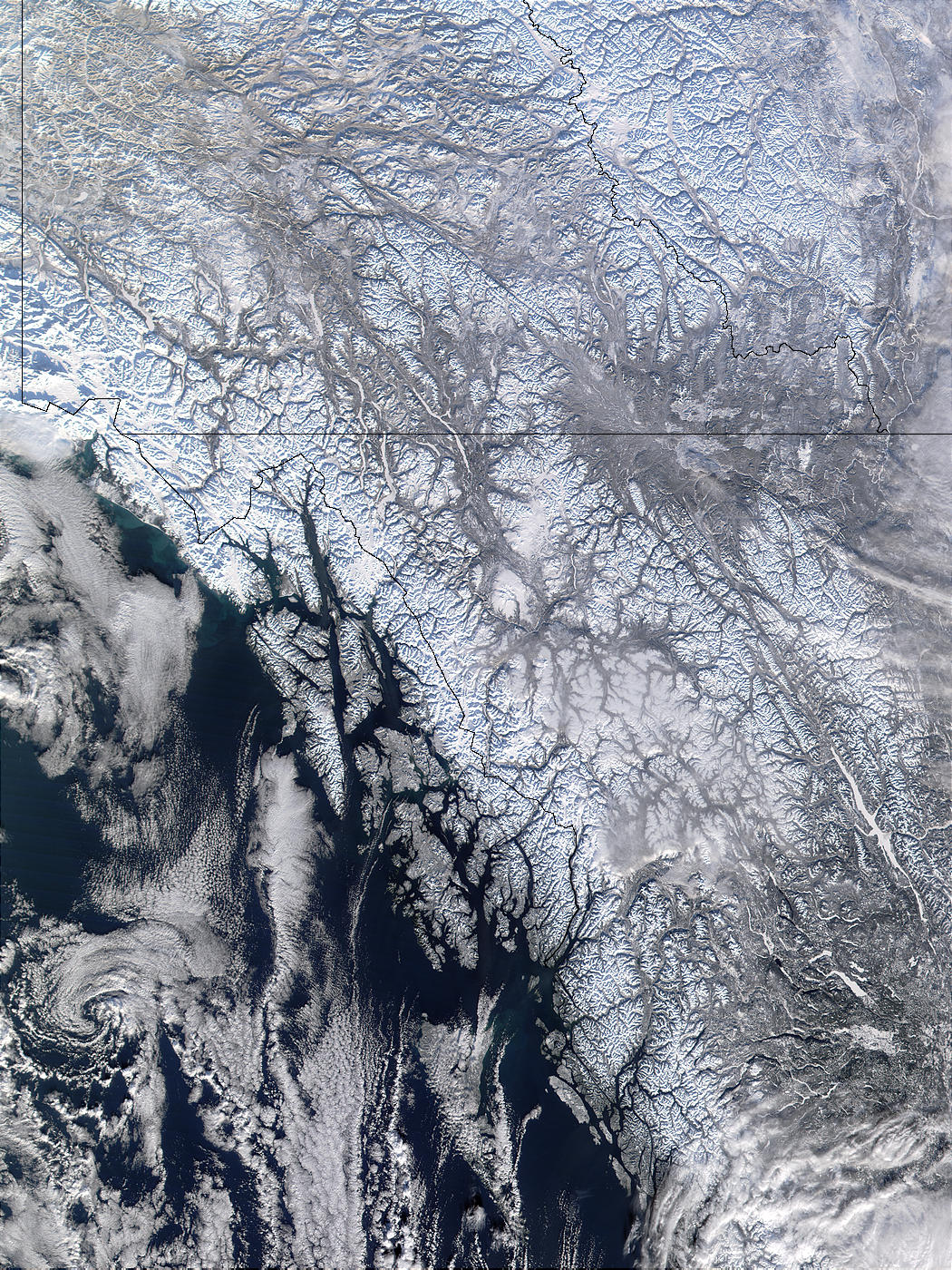 Western Canada and Southern Alaska - related image preview