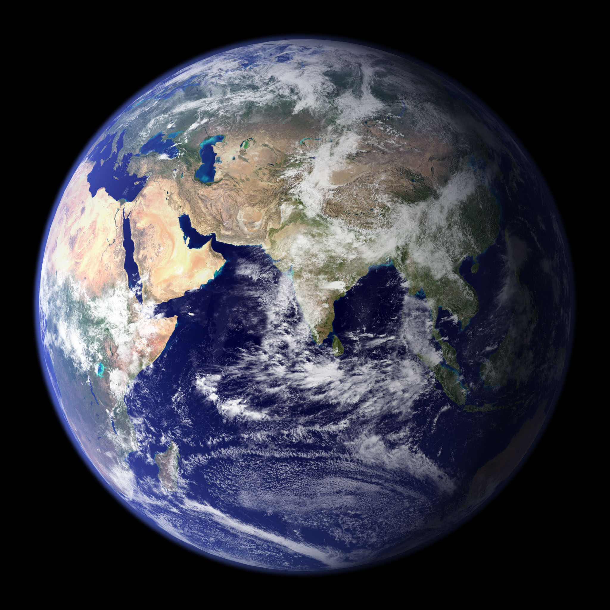 NASA Visible Earth: The Blue Marble