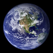 The Blue Marble - selected image