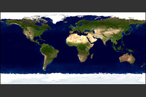 The Blue Marble: Land Surface, Ocean Color and Sea Ice - selected image