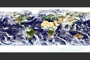 The Blue Marble: Land Surface, Ocean Color, Sea Ice and Clouds - selected image