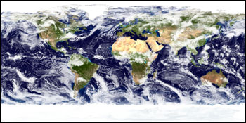 The Blue Marble: Land Surface, Ocean Color, Sea Ice and Clouds - related image preview