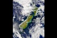 SeaWiFS: Turbidity east of New Zealand