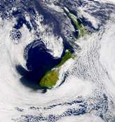 SeaWiFS: New Zealand - selected image