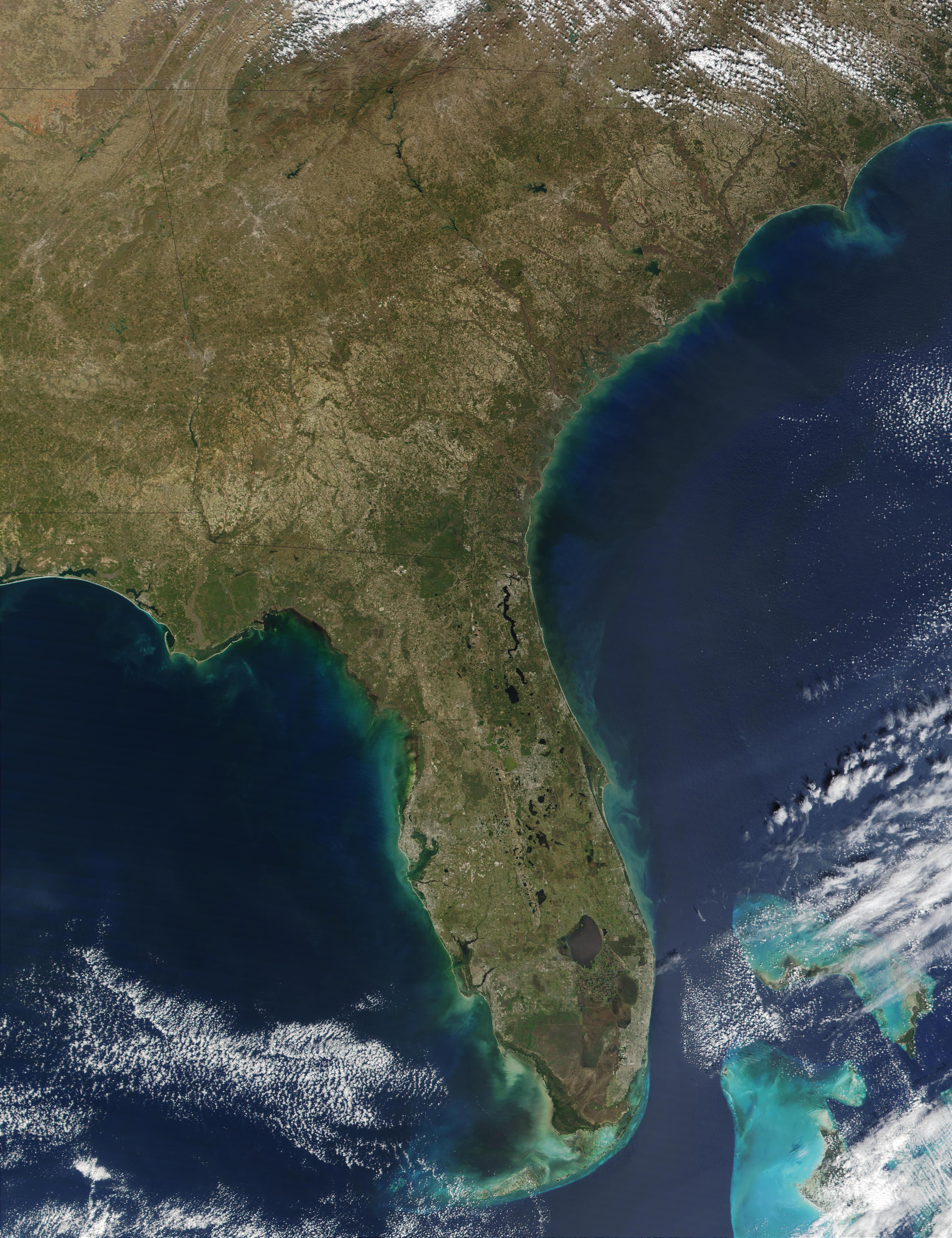 Nasa Visible Earth The Everglades
