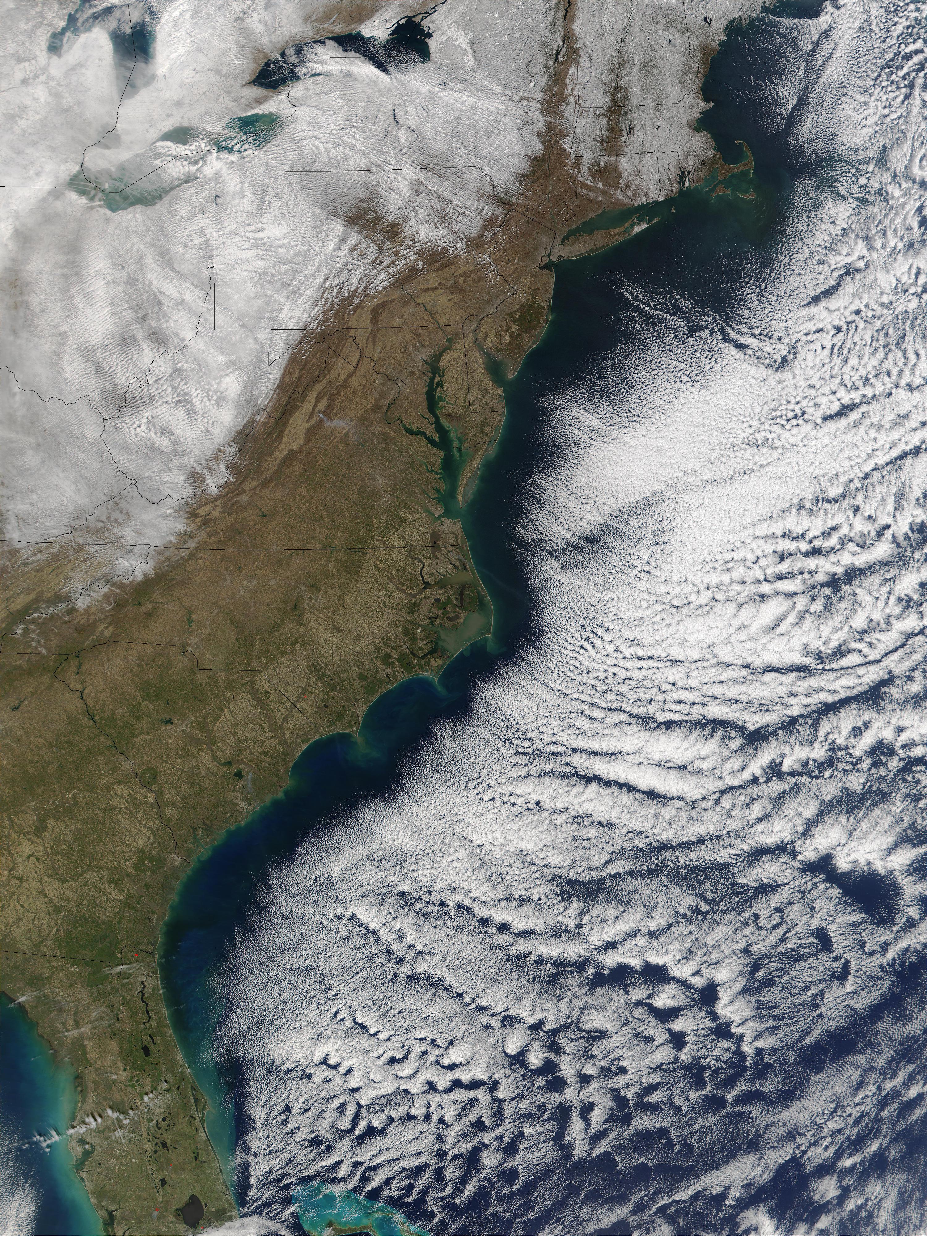 OpenNASA - Usa width coast to coast