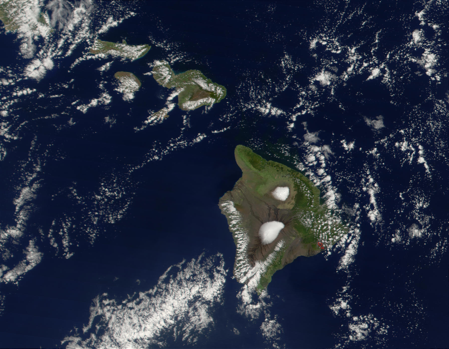 Snow on Mauna Kea and Mauna Loa, Hawaii - related image preview