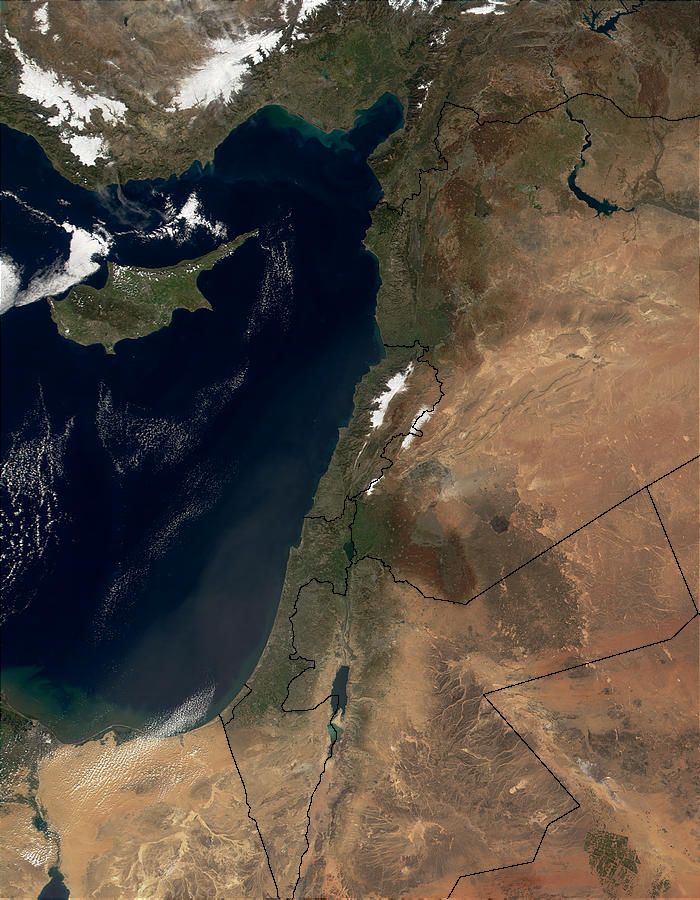 Saharan dust over Middle East - related image preview