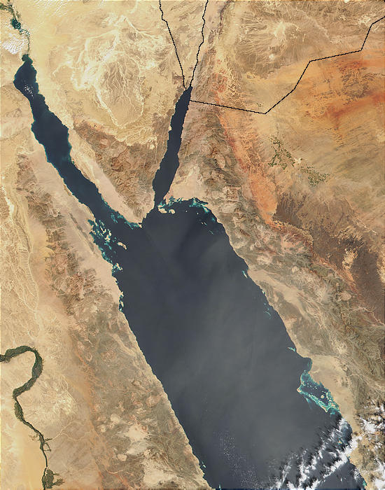 Dust over the Red Sea - related image preview